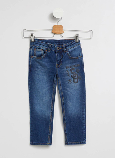 DeFacto Slim Fit Denim Pantolon Mavi